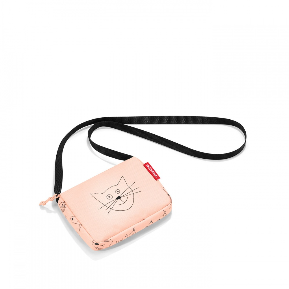 ec8cdb1528 Taška Reisenthel Itbag Kids Cats and Dogs Rose