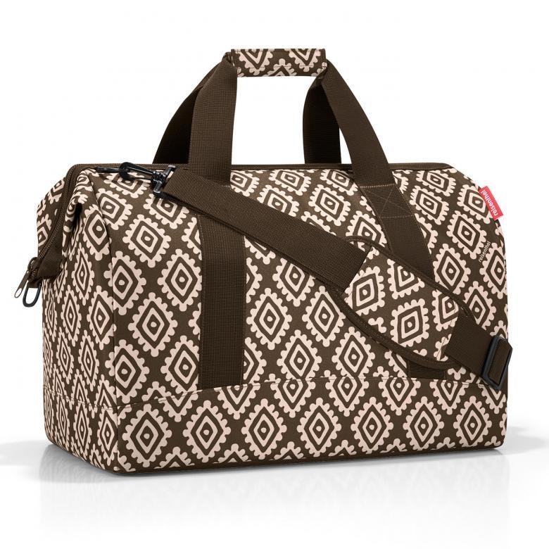 e5e796950e Cestovná taška Reisenthel Allrounder L Diamonds Mocha