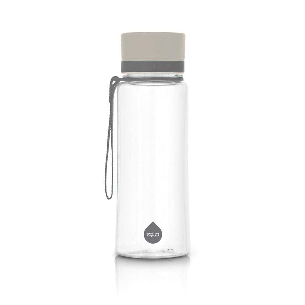 Fľaša EQUA Plain Grey, 600 ml