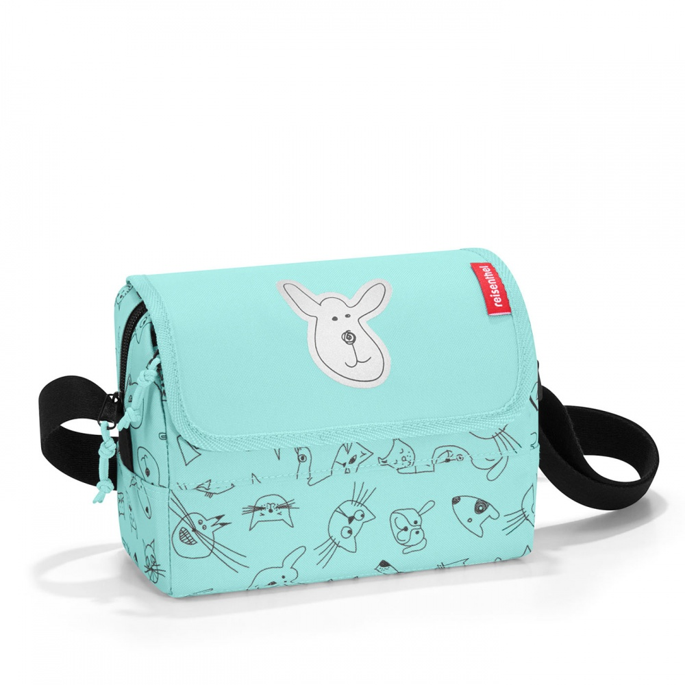 Taška Reisenthel Everydaybag Kids Cats and Dogs Mint
