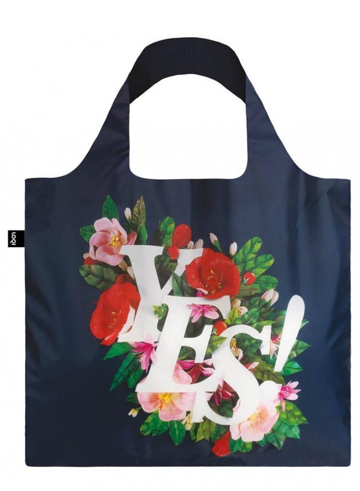 e88dd840166a2 Nákupná taška LOQI Antonio Rodriguez Yes | Bagabaga.sk