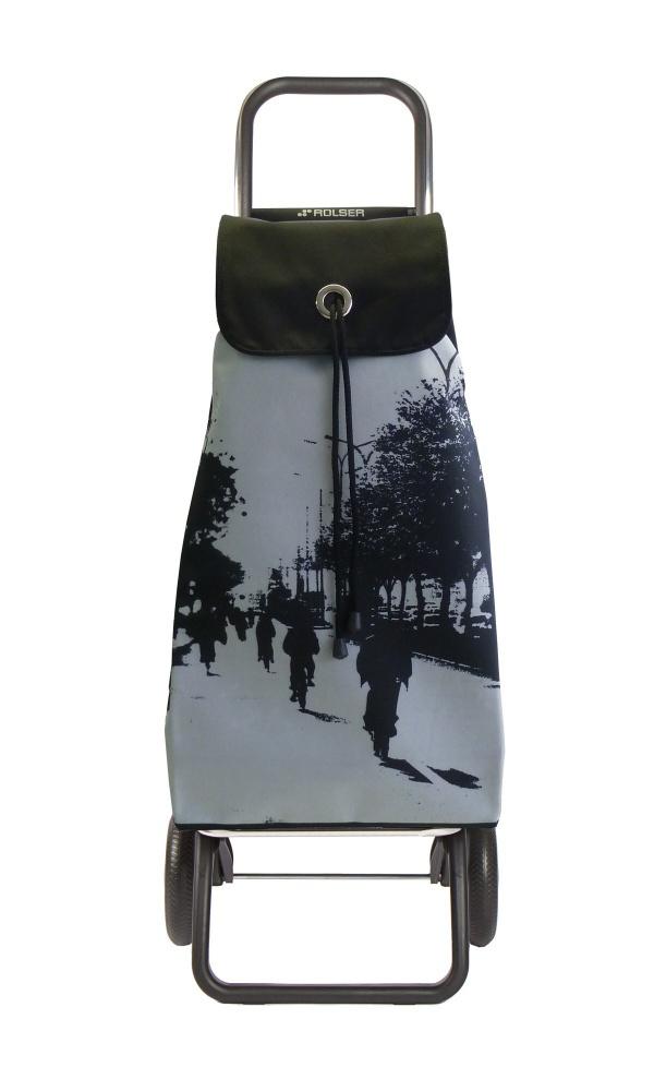 e8401f62d3f90 Nákupná taška na kolieskach Rolser I-Max LN City Convert RG Plata |  Bagabaga.sk