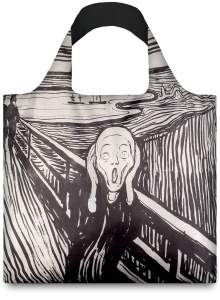 Nákupná taška LOQI Museum, Munch - The Scream