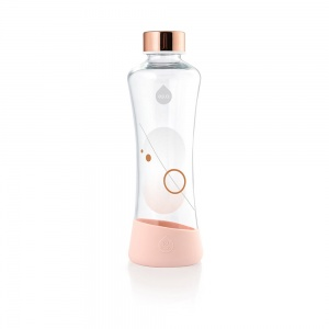 Fľaša EQUA METALLIC Rose Gold, 550 ml