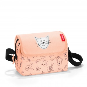 Taška Reisenthel Everydaybag Kids Cats and Dogs Rose