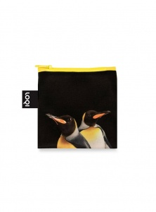 Nákupná taška LOQI National Geographic King Penguins 4