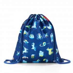 Vrecko, ruksak Mysac Kids Abc Friends Blue