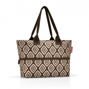 Taška Reisenthel Shopper e1 Diamonds Mocha