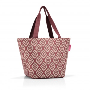 Taška Reisenthel Shopper M Diamonds Rouge