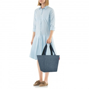 Taška Reisenthel Shopper M Twist Blue 3