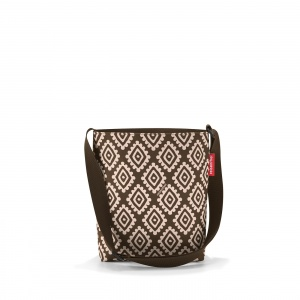 Taška Reisenthel Shoulderbag S Diamonds Mocha