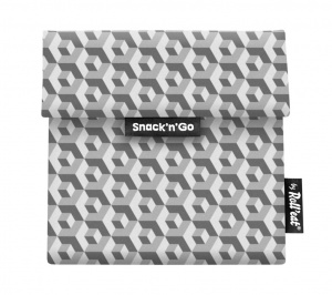 Eko vrecko Snack'N Go Tiles Black