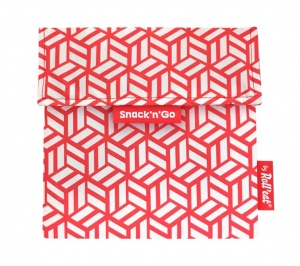 Eko vrecko Snack'N Go Tiles Red