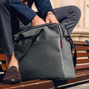 Taška na rameno Reisenthel Workbag Canvas Grey2