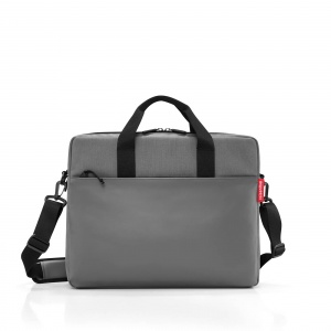 Taška na rameno Reisenthel Workbag Canvas Grey4